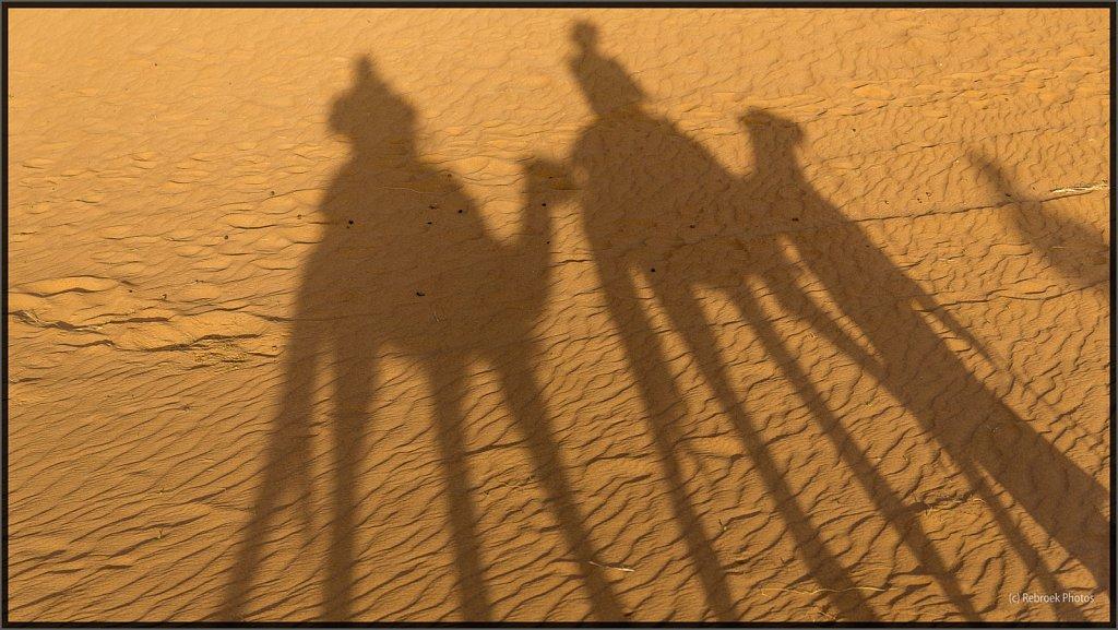 Sahara im Sonnenaufgang